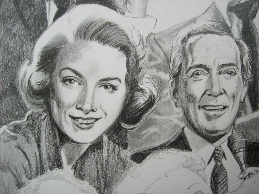 Rosemary Clooney, Andy Williams by Tom-Heyburn